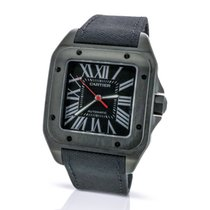 Cartier Santos 100 Carbon WSSA0006 - 12-Month Warranty