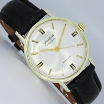 GUB Glashütte Yellow gold Automatic Silver 34mm pre-owned