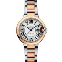 2f081261807 Cartier Ballon Bleu Rose Gold Steel and W2BB0023 - Compare preços na ...