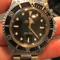 Rolex ROLEX VINTAGE 5513 Staal Submariner (No Date) 40mm