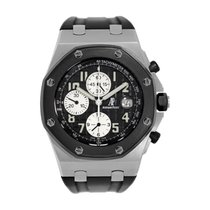 Audemars Piguet Royal Oak Offshore Chronograph Steel 42mm Black Arabic numerals United States of America, New York, New York