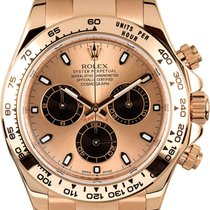 Rolex Red gold Automatic No numerals 40mm pre-owned Daytona