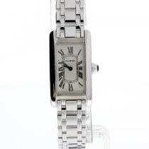 Cartier 1713 White gold Tank Américaine 19mm pre-owned