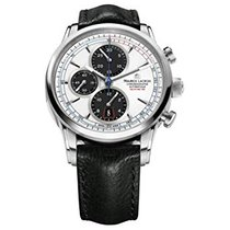 Maurice Lacroix Pontos Chronographe Rétro Staal 43mm Wit