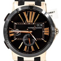 Ulysse Nardin Executive Dual Time Rose gold 43mm Black United States of America, Illinois, BUFFALO GROVE