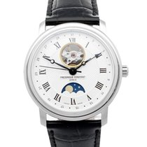 Frederique Constant Classics Moonphase Staal 40mm Zilver