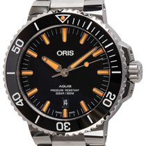 Oris pre-owned Automatic 43mm Black 30 ATM