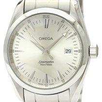 Omega Seamaster Aqua Terra Steel 36mm Silver