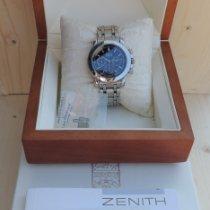 Zenith El Primero Chronograph Acier 400mm Noir France, Châlons en Champagne