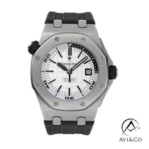 Audemars Piguet Royal Oak Offshore Diver Steel 42mm Silver No numerals United States of America, New York, New York