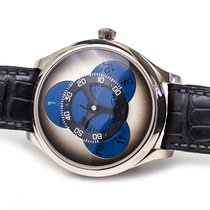 H.Moser & Cie. Or blanc 42mm Remontage automatique 1806-0202 occasion France, Paris:France/Europe