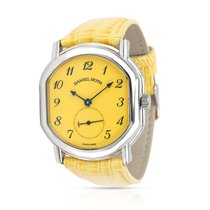 Daniel Roth Steel Automatic Yellow Arabic numerals 35mm pre-owned
