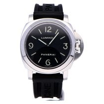 Panerai Luminor Base Steel 44mm Black Arabic numerals
