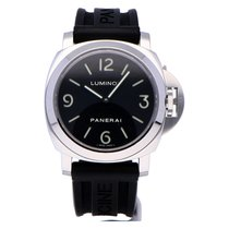 Panerai Luminor Base Staal 44mm Zwart Arabisch Nederland, The Netherlands