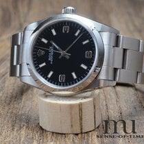 Rolex Oyster Perpetual 31 Stahl 31mm Schwarz Arabisch Deutschland, Schloß Holte