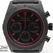 Tudor Fastrider Black Shield Ceramic 42mm Black No numerals