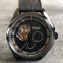 Zenith El Primero Chronomaster Titane 45mm Noir Sans chiffres Belgique, Nandrin