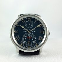 Ulysse Nardin pre-owned Automatic 38mm Blue Sapphire crystal 20 ATM