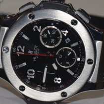 Hublot Steel Automatic Black Arabic numerals 44mm pre-owned Big Bang 44 mm