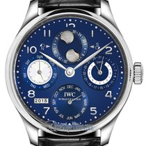 IWC Portuguese Perpetual Calendar new Automatic Watch with original box and original papers