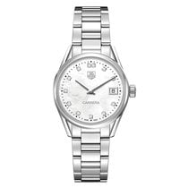 TAG Heuer Carrera 32mm Date Quartz Ladies Watch WAR1314.BA0778