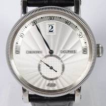 Chronoswiss Delphis Steel 38mm Silver Arabic numerals
