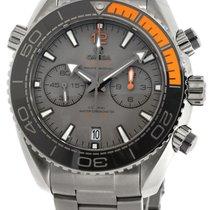 Omega Seamaster Planet Ocean Chrono 45.5 titanium Dial Watch...