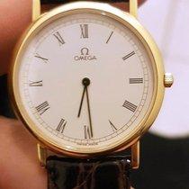 Omega De Ville Prestige 18k Gold 33mm Roman DIal