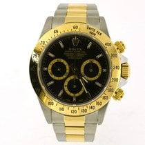 Rolex Daytona Zenith steel and gold 16523
