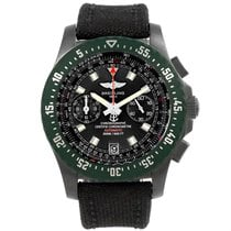 Breitling Skyracer Raven Pvd Steel Limited Edition Watch M27363