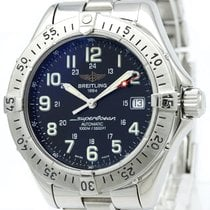 Breitling Superocean Steel Automatic Mens Watch A17340 Bf315573