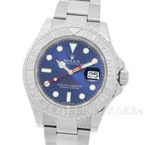 ロレックス Yacht Master Blue Dial Platinum Bezel Rolesium 40MM
