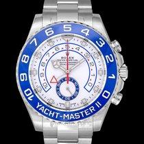 Rolex Yacht-Master II White/Steel 2017 44mm - 116680