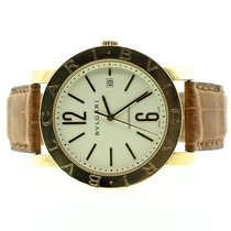 Bulgari ouro 18k 42mm