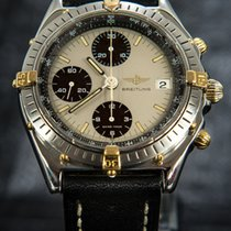 Breitling Chronomat Pilot Gold\Steel - 81950 + Original Box &...