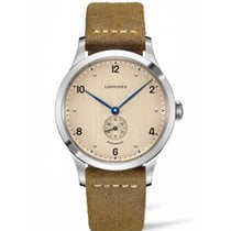 Longines Heritage Steel 40mm Champagne Arabic numerals United States of America, New York, NY