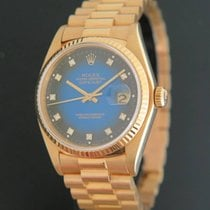 Rolex Datejust Yellow Gold 16018 Vignette Dial