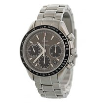 Omega Steel Automatic Grey 40mm pre-owned Speedmaster Date
