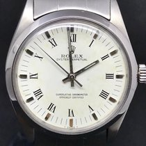 Rolex 34mm Automatico 1966 usato Oyster Perpetual 34 Argento