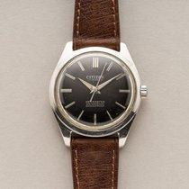 Citizen 36mm Handaufzug 1979 gebraucht Schwarz
