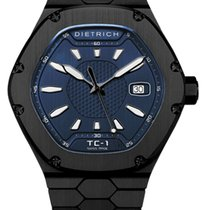 Dietrich Steel Automatic TC-1 PVD BLUE new