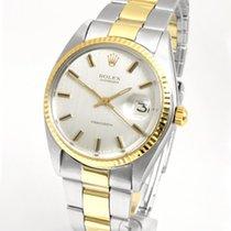 Rolex Oyster Precision Acero y oro 33.5mm Plata