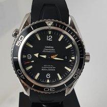 Omega Seamaster Planet Ocean Stahl 45,5mm Schwarz Arabisch