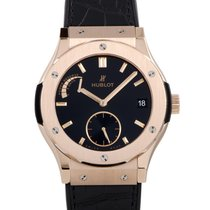 Hublot Manual winding Black 45mm new Classic Fusion 45, 42, 38, 33 mm