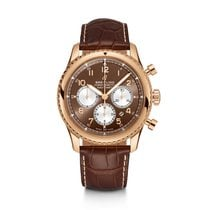 Breitling Rose gold Automatic Bronze Arabic numerals 43mm new Navitimer 8