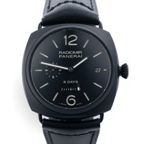 Panerai Radiomir 8 Days tweedehands 45mm Runderleer
