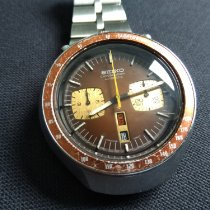 Seiko Bullhead Steel 43mm Brown No numerals