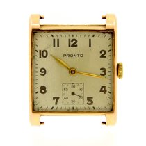 Pro-Hunter Yellow gold 26mm Manual winding pre-owned
