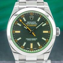 Rolex Milgauss Acier 40mm Arabes