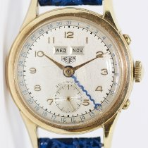 Heuer Yellow gold Automatic Arabic numerals 33mm pre-owned